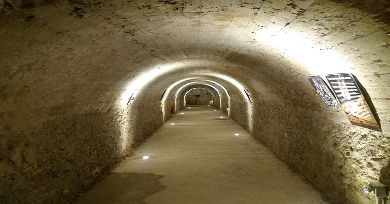 Visitas al Túnel de la calle Calderón de la Barca.