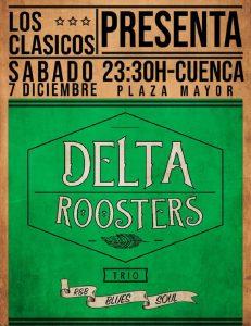 Delta Roosters en Concierto. Pub Los Clásicos. Cuenca.