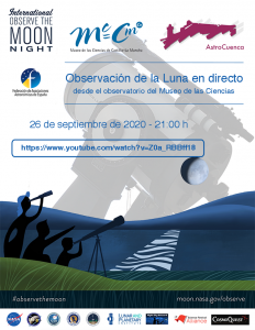 International Observe the Moon Night. Museo de las Ciencias de Castilla-La Mancha