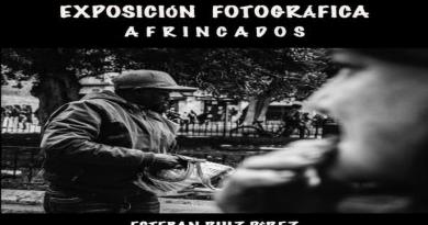 """Exposición """"Afrincados"""" del fotógrafo Esteban Ruiz en la Sala Iberia."""