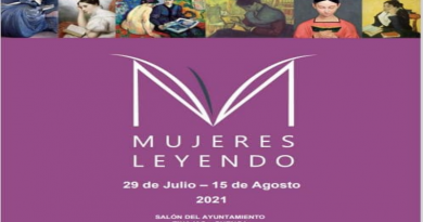 """Exposición """"Mujeres Leyendo"""" en el Ayuntamiento de Tinajas."""