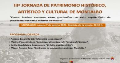 III JORNADAS DE PATRIMONIO HISTÓRICO, ARTÍSTICO Y CULTURAL de MONTALBO