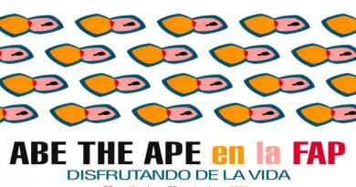 Abe the Ape Disfrutando de la vida en el Museo de Obra Gráfica de San Clemente