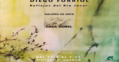 """Exposición de Diego Forriol """" Reflejos del Río Júcar"""" en Galería de Arte Casa Zovel"""