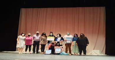 El grupo Desahucio Teatro con su obra Chiquilladas se alza con el primer Certamen de Teatro Aficionado de la Diputación