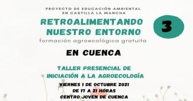 """""""Retroalimentando nuestro entorno"""" Talleres agroecológicos gratuitos en el Centro Joven de Cuenca"""