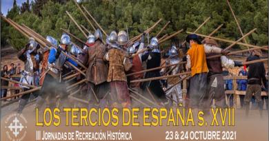 """Jornadas de recreación historicas """"Los Tercios de España s. XVII"""" en el Castillo de Belmonte."""